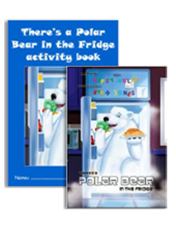THERE'S A POLAR BEAR IN THE FRIDGE - SET